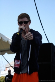 Asher Roth at Tufts University's Spring Fling, photographed for The Tufts Daily