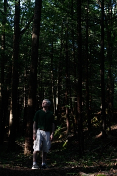 My father at Kittatinny Valley State Park