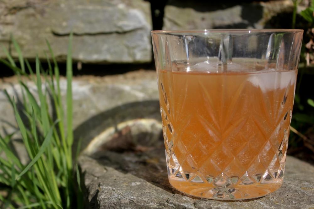 Blueberry Vodka Tonic Amandine